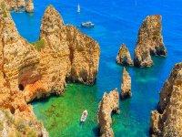 Cliffs in the Algarve