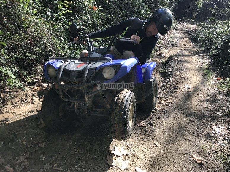 Explore Montnegre on quad