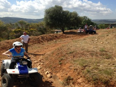 Tour in quad individuale di 45 minuti, Montnegre Park