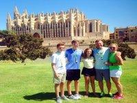 Visitantes tour segway Palma