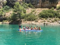 Giant sup in the Guadiela