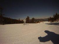 滑雪学生敢和我们一起滑雪板类