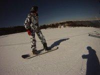练习曲目雪多雪之间滑雪场