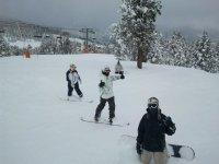 滑雪板学生