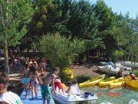 Actividades de canoas