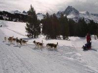 actividades en la nieve y la naturaleza