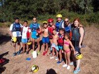 Kayak en familia con ninos
