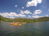 Kayak en las medulas patrimonio de la humanidad
