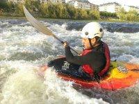 Stabilizing the canoe
