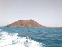 Cana de pesca en Fuerteventura