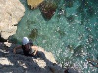 Climbing baptism