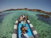 Taxi acqueo per l'isola di Lobos