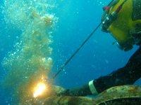 Corte submarino
