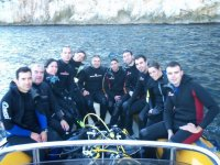 Salida de buceo en barco