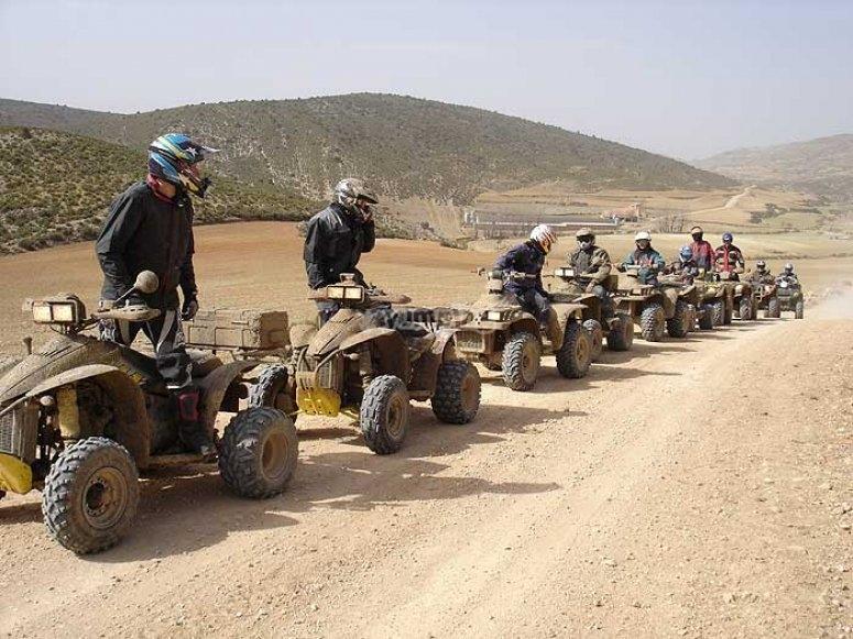 Excursión de quads