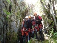 蓬费拉达附近的峡谷