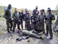 Paintball derrota y victoria