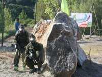 Paintball estrategia y parapetos naturales