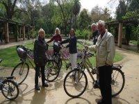 旅游塞维利亚自行车
