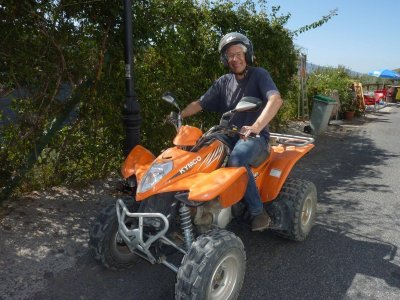 Single-seat quad route in Guadalfeo valley 2 hours
