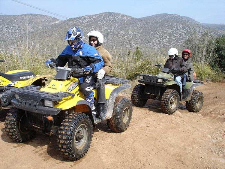 Excursiones en quad biplaza