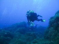 潜水员在巴拉阿尔塔