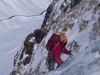 Escalada Boca Norte zona de Bielsa Pirineos