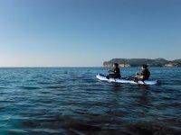 岛上的皮划艇之旅