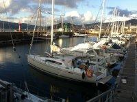 Barcos en la Marina