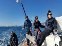 在马略卡岛游览来学习航行船上食品