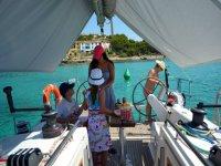 IB标识和享受航海日与您的朋友