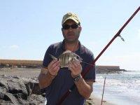 在melano钓鱼