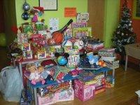 juguetes en Navidad