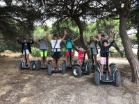 Family trip by Segway