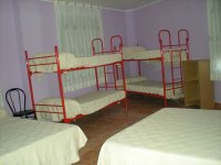Habitacion con camas en literas