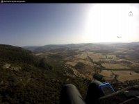 Foto con la GoPro en el parapente