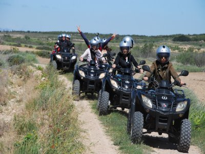 Two-seater quad ride, Alto de la Muga, 2 hours