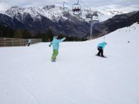 Snowboard on the piste and off-piste