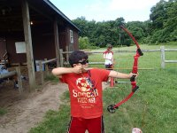 Archery next to Santander