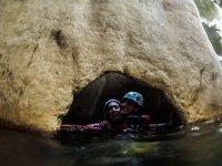 Dentro del agua