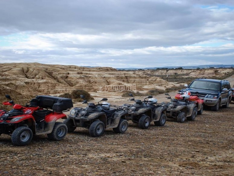 Flota de quads