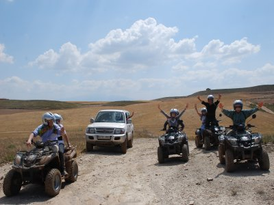 Ruta guiada en quad Tarazona y Sima Aines 3h