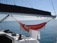 Un dia de calma en el mar