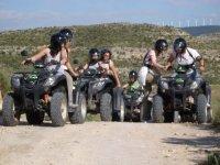 Emocionante recorrido en quad