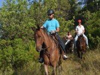 Horseback riding near Valencia