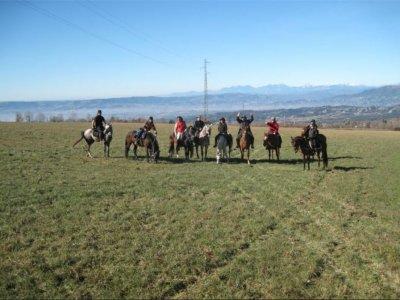前往Casserres的马,3个小时