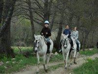 Pasear a caballo en Sanabria