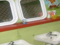 El baño de los peques