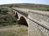 Puente de entrada a Aceuchal