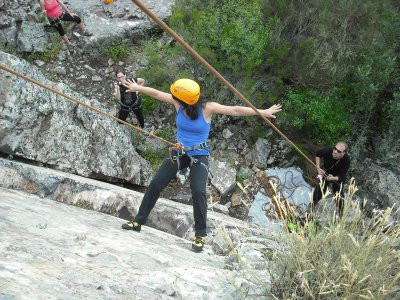 Abseiling in Batuecas Natural Park + snack